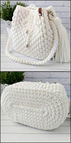 50 Versatile And Unique Free Crochet Patterns - Crochet market bag free pattern - 50 Versatile And Unique Free Crochet Patterns Snow White Bag Free Crochet Pattern Free Crochet Bag, Crochet Market Bag, Crochet Tote, Crochet Handbags, Crochet Purses, Crochet Gifts, Crochet Stitches, Knit Crochet, Crochet Patterns
