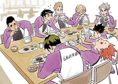 NO STOP THIS LOOKS LIKE THE SHIRATORIZAWA VERSION OF KARASUNOS LOSS BANQUET OML NO