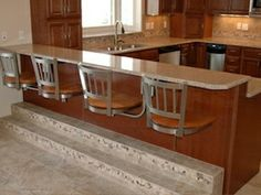 Kitchen snack bar suspended stools, stainless steel, contessa chair, standard frame