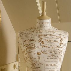 Pretty French Vintage Advertisement  by CorsetLacedMannequin, £190.00