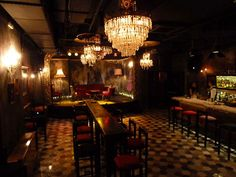 Faust bar in Athens theatre arts