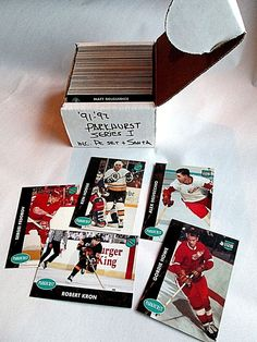 Complete 1991-1992 Parkhurst Series 1 NHL Hockey Cards Including M-NM