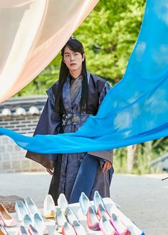 The King in Love(Hangul: 왕은 사랑한다; RR: Wangeun Saranghanda; lit. The King Loves) is a South Korean historical drama screenplay by Song Ji-na,, based on the novel of the same name by Kim Yi-ryung. It stars Im Si-wan, Im Yoon-ah and Hong Jong-hyun. It airs on MBC. 홍종현