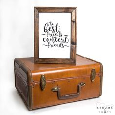 New in the #Etsy shop: the perfect gift for all your concert buddies! Gifts For Music/Concert Lovers or Friends - The Best Friends Are Concert Friends Framed Canvas http://etsy.me/2CwuNRn #EtsyShop #EtsySeller #EtsyFinds #StrumsAndShots