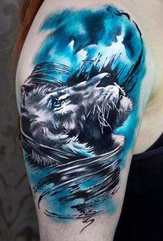 Realistic Animal Tattoo by Charles Huurman  | Tattoo No. 12400