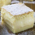 Vanilla Magic Custard Cake - OMG Chocolate Desserts