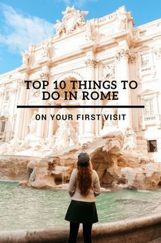 Top 10 Things To Do In Rome On Your First Visit - Travel Matters - italy travel tips European Vacation, Italy Vacation, European Travel, Italy Trip, Vacation Travel, Italy Travel Tips, Rome Travel, Budget Travel, Travel Plane