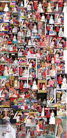 Royal Wedding 2011 Magazines all over the world