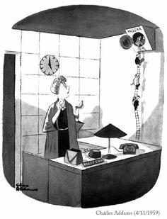Addams Family creator, Charles Addams Cartoon Books, Comic Books Art, Cartoon Art, Comic Art, Book Art, Addams Family Cartoon, Addams Family Tv Show, Adams Family, Comics