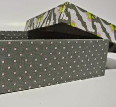 Cartonnage Creativo by Ada: Tutorial: Caja con tapa