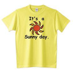 It's a Sunny day. 2291円 各種サイズ カラバリ多数ございます👕 Sunny Days, Mens Tops, T Shirt, Supreme T Shirt, Tee Shirt, Tee