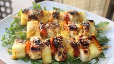 Brochetas de pollo macerado al limón fitness - Blog MASmusculo