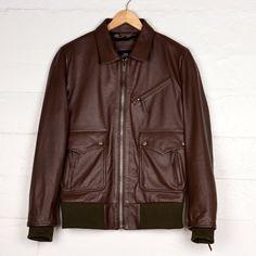 COMUNE Premium Collection leather jacket