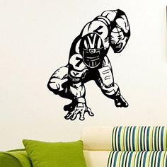 Wall Decal Vinyl Sticker Gym Sport Rugby American Football Player Decor Sb602 ElegantWallDecals http://www.amazon.com/dp/B0120B3I50/ref=cm_sw_r_pi_dp_tDYWvb05ZNCM2