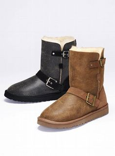 UGG® Australia NEW! Dylyn Short Boot #VictoriasSecret http://www.victoriassecret.com/shoes/uggs/dylyn-short-boot-ugg-australia?ProductID=70649=OLS?cm_mmc=pinterest-_-product-_-x-_-x