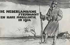 Mobilisatie Nederlandse leger  Eerste wereldoorlog