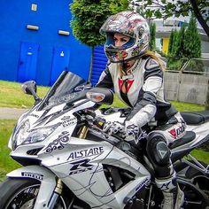 Gixxer girls S/O @anna_rybak46 Biker chick Go check out her feed riders and follow! #gsxr600#bikerchick#suzuki #motorcycle #motorcycles #bike #TagsForLikes #ride #rideout #bike #biker #bikergang #helmet #cycle #bikelife #streetbike #cc #instabike #instagood #instamotor #motorbike #photooftheday #instamotorcycle #instamoto #instamotogallery #supermoto #cruisin #cruising #bikestagram