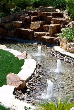 Water Features - Sunset Oasis Landscapes