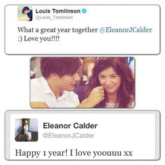 Eleanor and Louis 1 year !!!!!!!!!!!!! I love you both so much :):):) I wish you many more years to come :):)