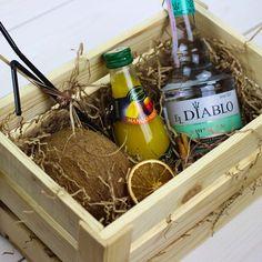 Подарок с алкоголем