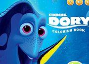 Buscando a Dory Coloring Book
