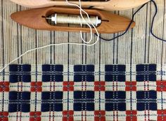 Americana weaving draft from Schacht Spindle Company