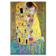 @Overstock - Artist: Gustav Klimt Title: KissProduct type: Canvas arthttp://www.overstock.com/Home-Garden/Gustav-Klimt-Kiss-Canvas-Art/5925039/product.html?CID=214117 $87.99
