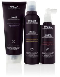 AVEDA INVATI for thinning hair. Reduce hair loss by 33%.