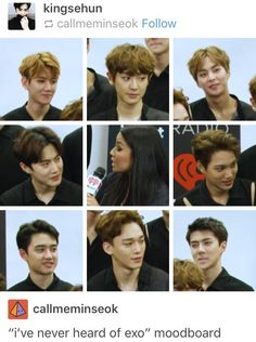 Omggg chen and chanyeol are my fav