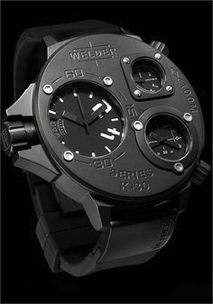 $869 There's something just horribly industrial and dirty about this watch that I really like