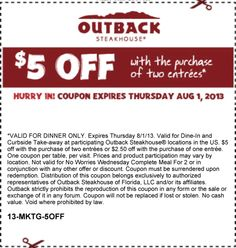 Tgif coupons 2018 july