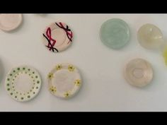 ( Tutorial) Fimo Miniatur Teller modelieren mit Hilfe einer Silikonform - YouTube