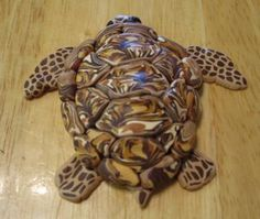 Creator's Joy: Sea Turtle Birthday Party Project: How to make fimo sea turtles