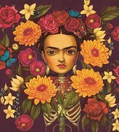 Benjamin Lacombe, en las entrañas de Frida Kahlo