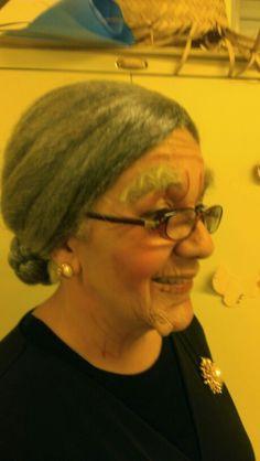 Maquillaje de anciana