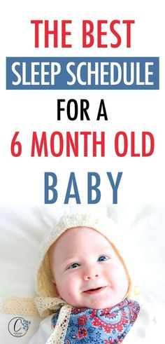 The Best Sleep Schedule for a 6 Month Old Baby. Help bring order to your day by using this 6 month old sleep schedule. You will find that it will help your baby to sleep through the night as well! 6 Month Sleep Schedule, 6 Month Old Sleep, Baby Schedule, 6 Month Old Baby, Six Month, 6 Month Olds, Baby Checklist, Baby Sleep Routine, Help Baby Sleep