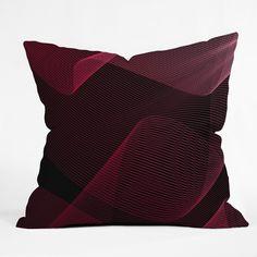 Emanuela Carratoni Pink Idea Throw Pillow | DENY Designs Home Accessories