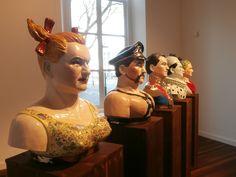Expositie in het stedelijk museum Kampen