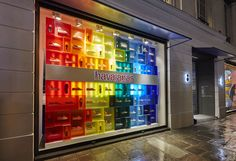 Rainbow - Havaianas at Colette, Paris - StudioXAG