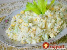 Vymeňte ryžu a zemiaky za tieto šaláty a kilá pôjdu dolu: Najlepšie šaláty na chudnutie a dobré trávenie! Cooking Light, Potato Salad, Cauliflower, Health Fitness, Food And Drink, Low Carb, Vegetarian, Healthy Recipes, Vegetables