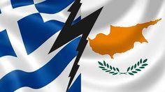 Your Flash Report: Κύπρος & Ελλάδα: Oι ''Νικητές'' της Ιστορίας Bat Signal, Cyprus, Superhero Logos, Greece, Flag, Greece Country, Science, Flags