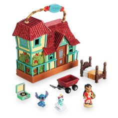 Model Building Hot Diy Birthday/valentine/hallowmas/christmas Gifts Miniature Furnitures Model Kits 3d Assemble Toys Creative Diary Dollhouse Grade Products According To Quality