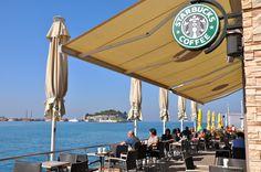 Starbucks Kusadasi, Turkey.  Photo by LMM