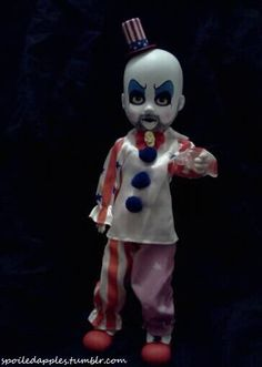 My Captain Spaudling Living Dead Doll.