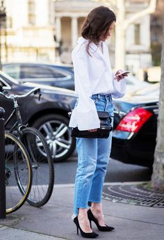 4 Ways To Wear Frayed Denim Jeans