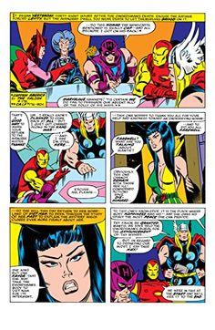Crimson Dynamo, Sal Buscema, Black Bolt, Power Man, Moon Knight, Silver Surfer, Punisher, Captain Marvel, Black Panther