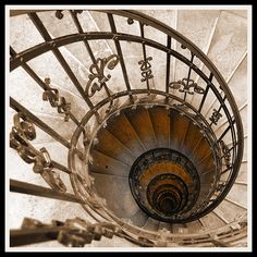 Budapest Basilica - geometry of the stairs Stair Slide, Stair Well, Take The Stairs, Stairs Architecture, Stair Steps, Stairway To Heaven, Architectural Elements, Stairways, Arches