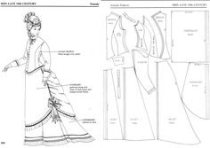 Patterns for Theatrical Costumes www.pinterest.com WOMEN'S ACCESSORIES http://amzn.to/2kZf4gO