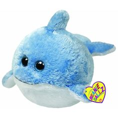 beanie ballz | Ty Beanie Ballz - Laguna the Dolphin Large