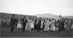 Marriage, Lefktra, Greece, 1924. Dorothy's Burr Thompson photo archive.